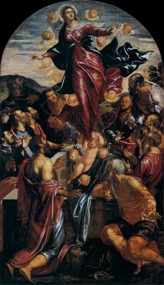 "Tintoretto: ""Assumption of the Virgin"""