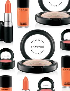 MAC & Hayley Williams / Paramore Collection Preview http://www.magi-mania.de/collection/mac-hayley-williams/