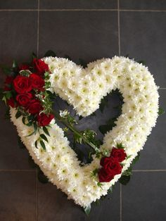 Open Heart - - Open and closed Hearts from Funeral Floral Arrangements, Creative Flower Arrangements, Church Flowers, Funeral Flowers, Funeral Sprays, Casket Sprays, Funeral Tributes, Beautiful Rose Flowers, Lace Flowers