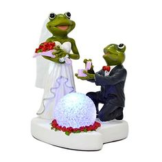 Giftgarden Ornaments - Wedding Figurines Groom Propose to Bride with LED Light Couple Statue for Wedding Gifts Gift Garden http://www.amazon.com/dp/B013DP6JIK/ref=cm_sw_r_pi_dp_NJhYwb0CFJTCJ