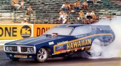 ✿The HAWAIIAN Dodge Charger Funny Car at OCIR✿ Funny Car Drag Racing, Nhra Drag Racing, Funny Cars, Auto Racing, Car Photos, Car Pictures, Vintage Race Car, Sweet Cars, Drag Cars