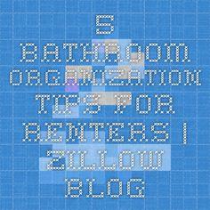5 Bathroom Organization Tips for Renters | Zillow Blog