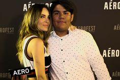 Belinda Meet & Greet con los fans | Blue carpet | #AeroFest