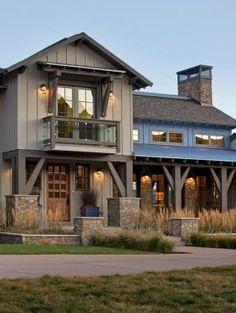 Aesthetic farmhouse exteriors design ideas (11)