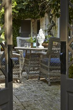 Klaussner Outdoor Outdoor/Patio Palmetto Chair W1400 C   Klaussner Outdoor    Asheboro, NC | Klaussner Outdoor | Pinterest | Indoor, Patios And Woods