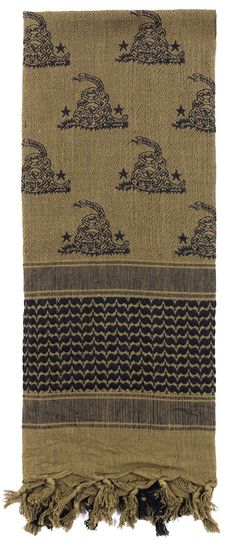 A new spin on a classic, Rothco's new Shemagh scarves feature Military, Spartan and Skull patterns. Shemaghs are a traditional desert head-wear that are designed to protect the head and neck from sun