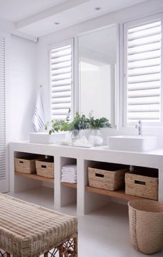 Private House Co Bathroom Rules, Bathrooms, Neutral Palette, Bath Vanities, Home Look, First Home, Decorating Blogs, Bathroom Inspiration, Keep It Cleaner