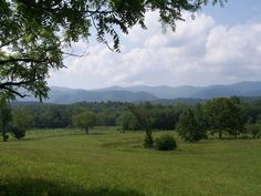 Looking Over Cades cove .... Smoky Mountain collection