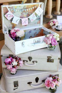 Shabby And Chic Vintage Wedding Decor Ideas ❤ See more: http://www.weddingforward.com/shabby-chic-vintage-wedding-decor-ideas/ #weddingforward #bride #bridal #wedding