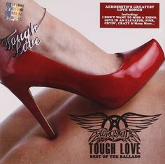 AEROSMITH Tough Love: The Best Of The Ballads CD 2011  #OneAsiaAllEntertainment #852Entertainment