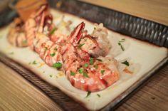 MIchael Symon's Spanish Shrimp Romesco from the chew