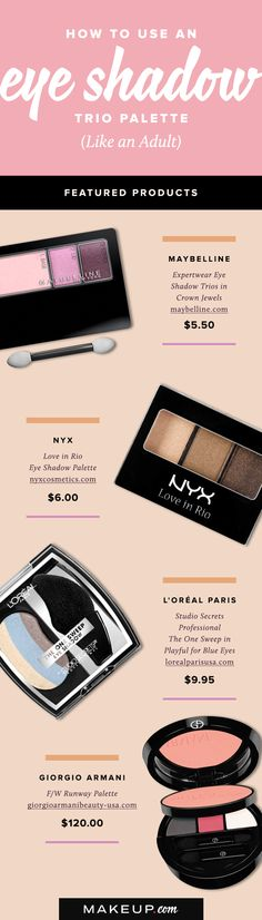 Getting a new eye shadow palette is fun and excititng, but we all get a lost with exactly how to blend the colors properly. We decided to lift the mystery of the trio palette and show you how to use it right with this easy eye makeup guide and tutorial.