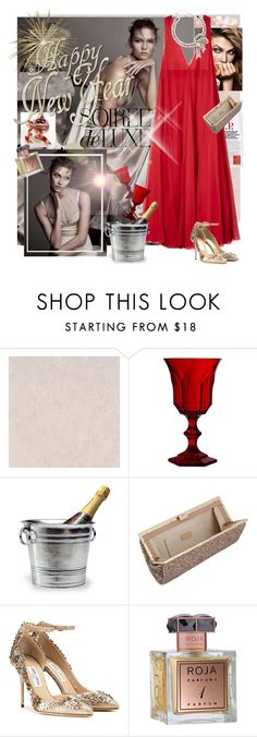 """""""*NEW YEAR GLAM*"""" by mariapia65 ❤ liked on Polyvore featuring Mode, Mario Luca Giusti, Bebe, Match, Jimmy Choo und Roja Parfums"""