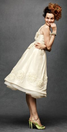 Just discovered anthropologie do bridal. This is so close to the dress I already have @Kerri-Ann Sheppard