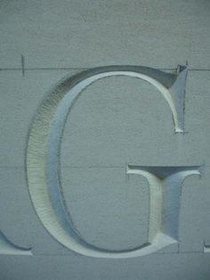 Close up on G