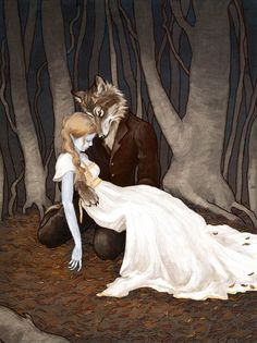 Erin Kelso, aka Bluefooted on DeviantArt -- stunning fairy tale artwork