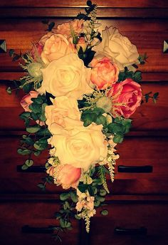 Victorian style trailing bouquet by Vintagealice30 on Etsy, £110.00