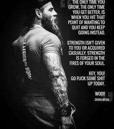 25 ideas fitness motivation memes bodybuilding for 2019 Wisdom Quotes, Quotes To Live By, Me Quotes, Motivational Quotes, Inspirational Quotes, Strong Quotes, The Words, Warrior Quotes, Badass Quotes