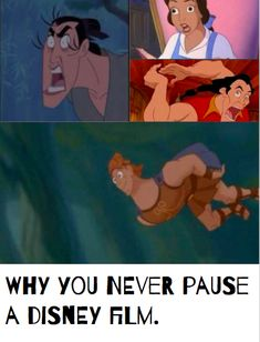 After I saw this I wasn't able to stop laughing 😂😂😂 Funny Disney Jokes, Crazy Funny Memes, Disney Memes, Stupid Memes, Disney Quotes, Funny Relatable Memes, Funny Jokes, Hilarious, Disney Princess Memes