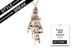 #STYLE #BREAK! Get the #Hadley #Pendant #Necklace for $20. #Today #only!
