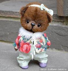 Выкройка от Анны Турченко. Мишка / Мишки / Бэйбики. Куклы фото. Одежда для кукол