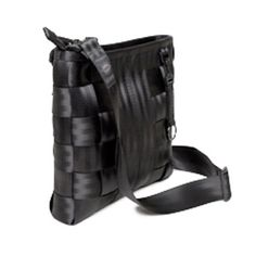 Harvey's Black Label Slim Messenger Bag - Made of durable automotive seatbelt, this cross-body bag is perfect for carrying a small laptop or tablet. $134.00