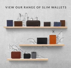 Our wallet range