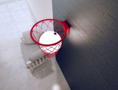 Wandlamp-basketball