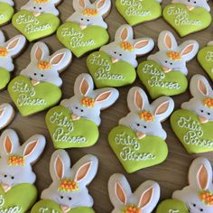 Iced Cookies, Easter Cookies, Easter Treats, Holiday Cookies, Cupcake Cookies, Sugar Cookies, Friendship Cake, Biscuits, Cookie Frosting