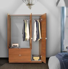 Superbe Overcrowded Closet? 10 Modern Wardrobes And Armoires To Tame Fashion