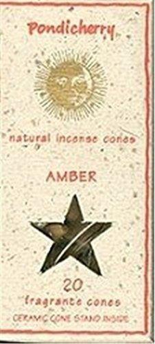 Pondicherry Natural Incense Amber