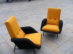1950's armchairs/VIntage armchairs/1950's armchair/ vintage French armchair. @Deidra Brocké Wallace