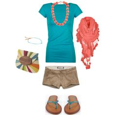Tropical Summer, created by heather-rolin.pol...