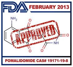 Getting closer everyday! February 2013 - FDA approves Celgene's drug Pomalyst (Pomalidomide CAS# to treat patients with advanced multiple myeloma Multiple Myeloma, Rare Disease, Orphan, Medical Advice, Health Problems, Cas, Life Lessons, Closer, Drugs