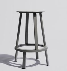 Revolver Bar / Counter Stool by Hay Denmark Bar Counter, Counter Stools, Bar Stools, Danish Design Store, Galley Kitchens, Bar Chairs, Simple Elegance, Revolver, Foot Rest