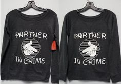 Long Sleeve Shirt - Partners In Crime Combo