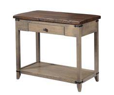 Reclaimed Wood Top Manhattan Sofa Table