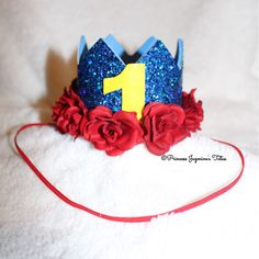 A personal favorite from my Etsy shop https://www.etsy.com/listing/295313465/snow-white-birthday-crown-theme-crown