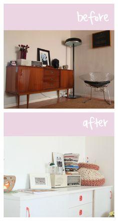 Antes y Después: El aparador Retro de Aina : x4duros.com