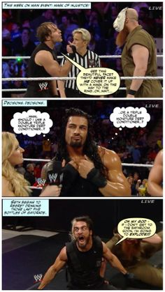 This week on Main Event... Credit JenJ@forever_ambrose