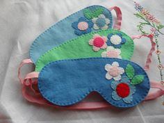 Sleep mask by MrsHotchpotch on Etsy. These are beautiful in true life, really well made and a bargain at £6.50