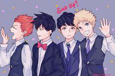 "tendertofu: ""suit up boys! """
