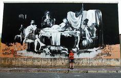 Streetart: Conor Harrington – New Murals in Italy (10 Pictures + Clip) > Design und so, Illustrationen, Paintings, Streetstyle, urban art > classic, conor harrington, historical, ireland, italy, murals, public art