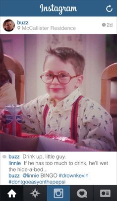 If Buzz from HOME ALONE had his own Instagram. Haha. This is so funny. #funny #homealone #christmas