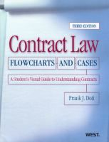 Contract law : flowcharts and cases : a student's visual guide to understanding contracts / by Frank J. Doti.