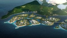 BIG, Hijjas and Ramboll selected as winners of the Penang South Islands Design Competition Win Competitions, Design Competitions, Plan Maestro, Penang Island, Mangrove Forest, Water Resources, Island Design, Urban Life, Island Resort