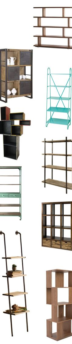 Modern Bookcases & Shelves | Shop Now at dotandbo.com
