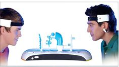 """Mindflex: uses a variation of EEG technology to """"read"""" the intensity of these brainwaves via sensors positioned on your forehead and ear"""