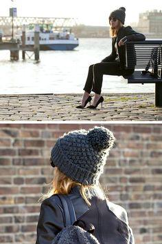 Shop this look on Kaleidoscope (jacket, jeans, hat, pumps) http://kalei.do/XGb0Zsz5EZxm4vXd