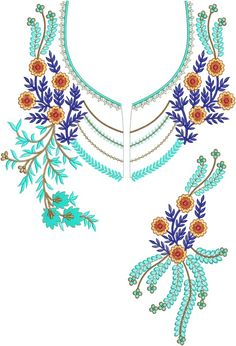 Latest Neck Designs for Kurtis / Dress / Suit / Men's Neck Download Embroidery Design File in .EMB Format. Kurti Sleeves Design, Kurti Neck Designs, Sleeve Designs, Border Embroidery, Embroidery Suits, Machine Embroidery Patterns, Suit Men, Tunisian Crochet, Ganesh